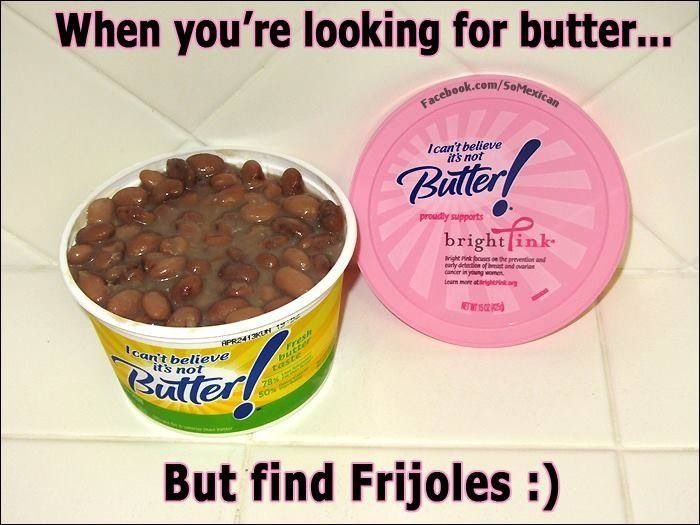 Mmmmm....frijoles.....