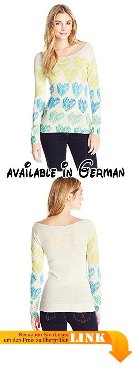 Desigual Damen Pullover YOLANDA, Gr. 40 (Herstellergröße: XL), Weiß (TIZA 1010).  #Apparel #SWEATER