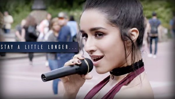 """Stay A Little Longer Lyrics from Hindi Song 2017 sung & written by Anushka Shahaney and composed by Farhan Saeed.  """"Stay A Little Longer"""" is a love song in the English language, from Mohit Suri's directed"""