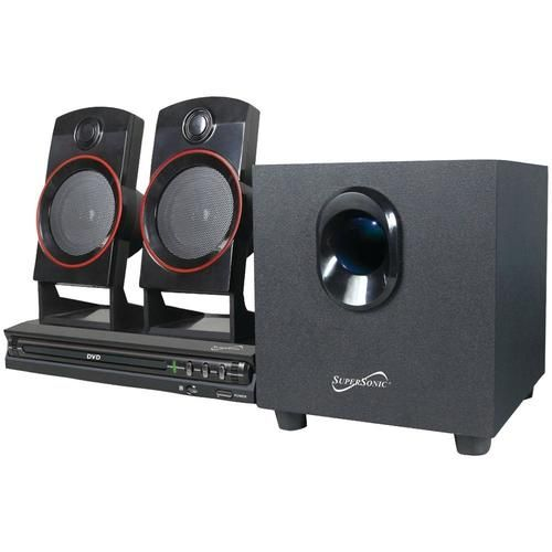 Supersonic SC-35HT 2.1-Channel DVD Home Theater System - SSCSC35HT