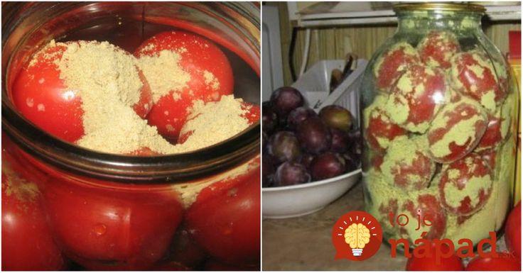 Jednoduchý trik, ako uchovať paradajky čerstvé celé týždne!