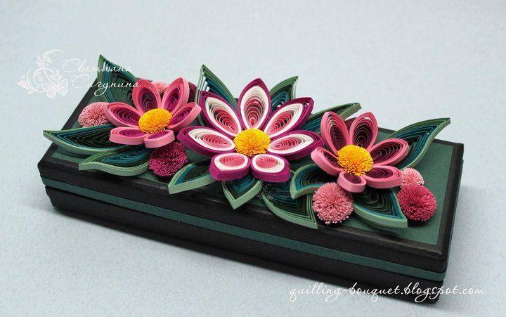 Quilled Gift Box - by Svetlana Vs  http://quilling.bouquet-blogspot.com