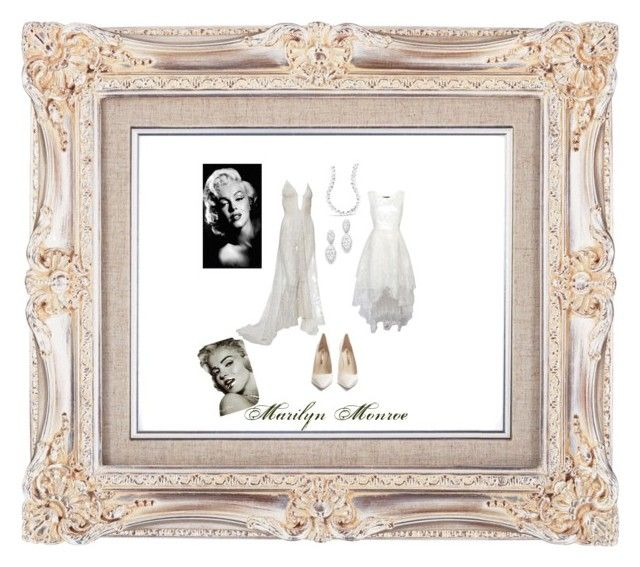 """marilyn monroe"" by anna-lynn-dunbar on Polyvore featuring Sophia Webster and Bloomingdale's"