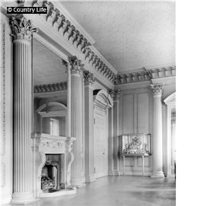 The drawing room at Sutton Scarsdale Hall