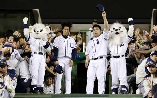Takayuki Kishi and Takeya Nakamura (Saitama Seibu Lions)
