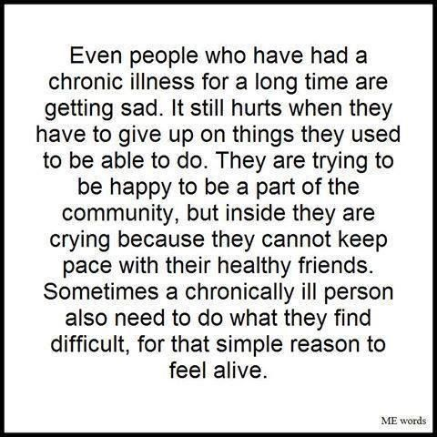 'This is truer than true. Rock climbing may put me out for a week, but it's something I need to do to just feel alive and normal' Spoonie quotes. Discover handmade items made by people living with Chronic Illness, Disability or Caring for those affected. http://www.consciouscrafties.com/