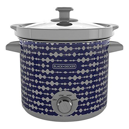 Amazon has this Black+Decker 4 Quart Dial Control Slow Cooker with Built in Lid Holder marked down to just $9.71 right now – the lowest price ever on record!
