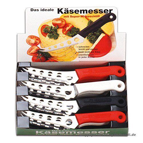 Käsemesser 12 Stück im Thekendisplay - http://besteckkaufen.com/eurohome/kaesemesser-12-stueck-im-thekendisplay