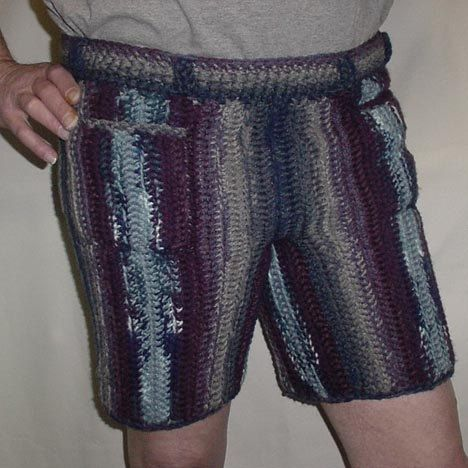 Free Crochet Pattern Mens Underwear : 1000+ images about Crochet Shorts on Pinterest Crochet ...