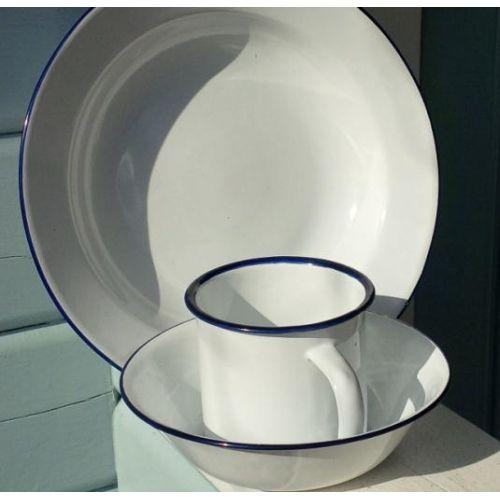 Blue Enamel C&ing Plates & 24 best Kitchen plates and bowl sets images on Pinterest | Bowl set ...