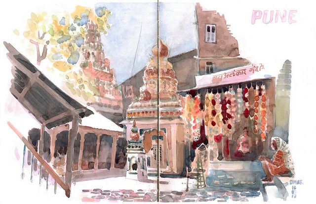 Pune by omar.paint, via Flickr