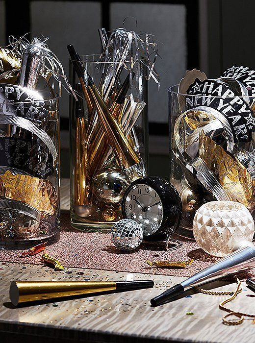 10 Fast Tips for a Chic New Year's Eve Party | New years ...