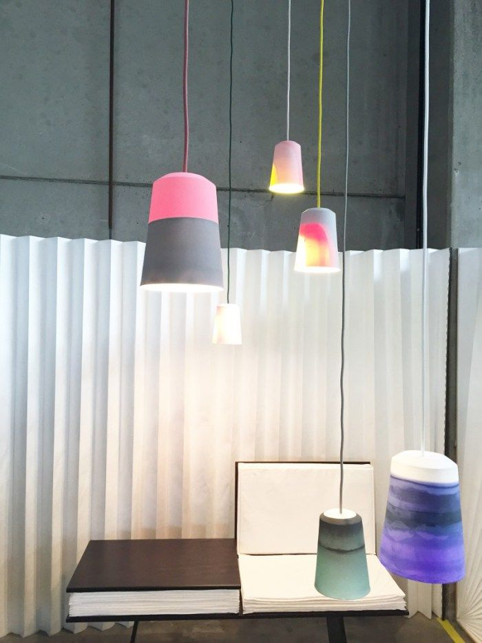 lighting interiors. Colorful Ceramic Lighting By Meyers And Fügmann Interiors