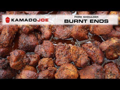 3) Kamado Joe Pork Shoulder Burnt Ends - YouTube | BBQ