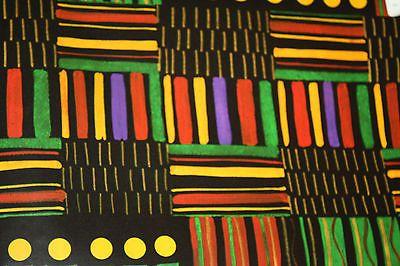 African Wrapping Paper Kwanzaa Kwanzaa2013 Beautiful