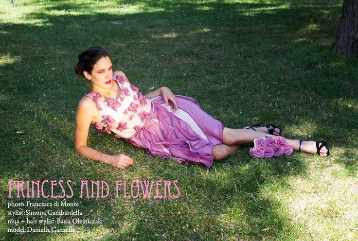 """Princess and flowers"""