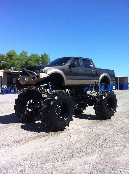 A lifted Ford F-150. See details how to build that on http ...