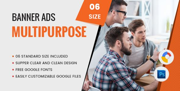 Multi Purpose Banners HTML5 D6 - GWD