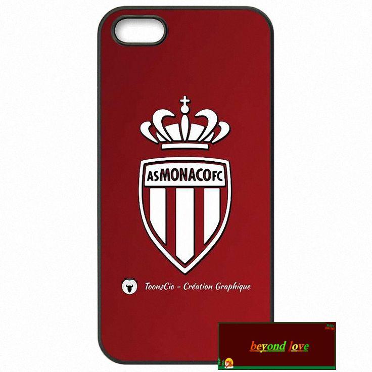 AS Monaco club FC Logo Cover case for iphone 4 4s 5 5s 5c 6 6s plus samsung galaxy S3 S4 mini S5 S6 Note 2 3 4  zw0033