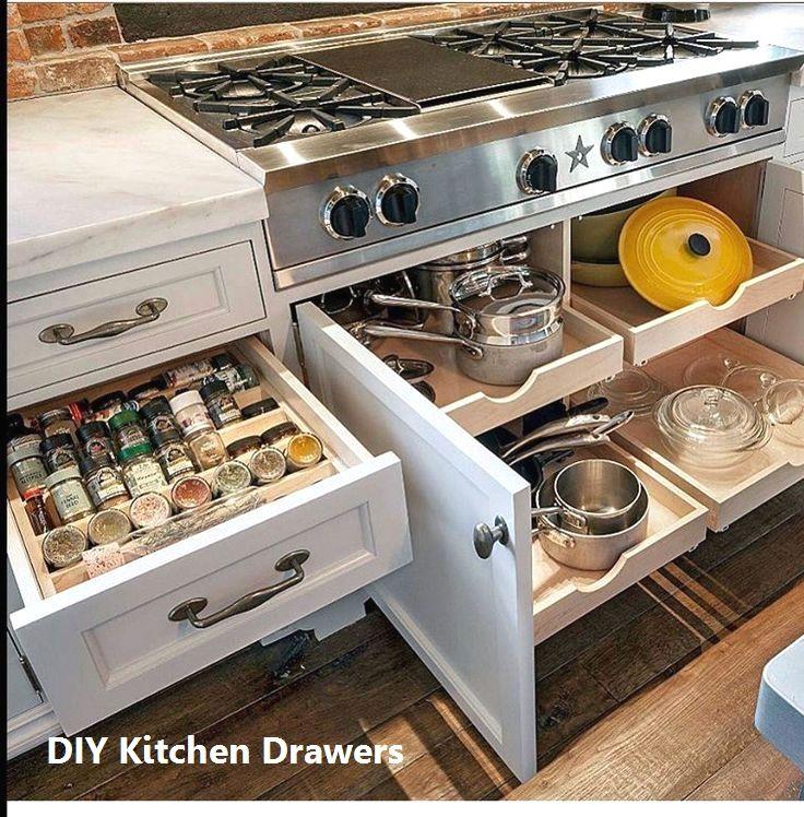 New Kitchen Drawer Ideas Kitcendecor Kitchendrawers In 2020