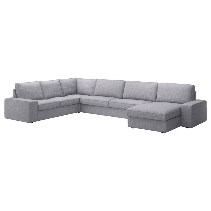 IKEA - KIVIK, Corner sofa 2+3/3+2 and chaise, Isunda gray, , 10-year limited warrranty. Read about the terms in the limited warranty brochure.