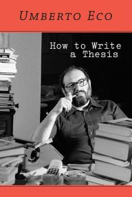 how to write a thesis with elements