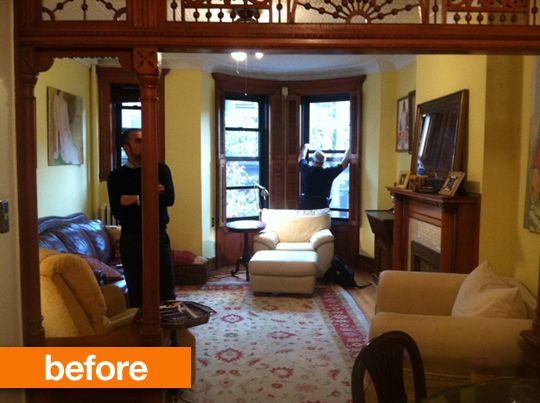 Before & After: Marie Clare & Peter's Park Slope Modern The Sweeten