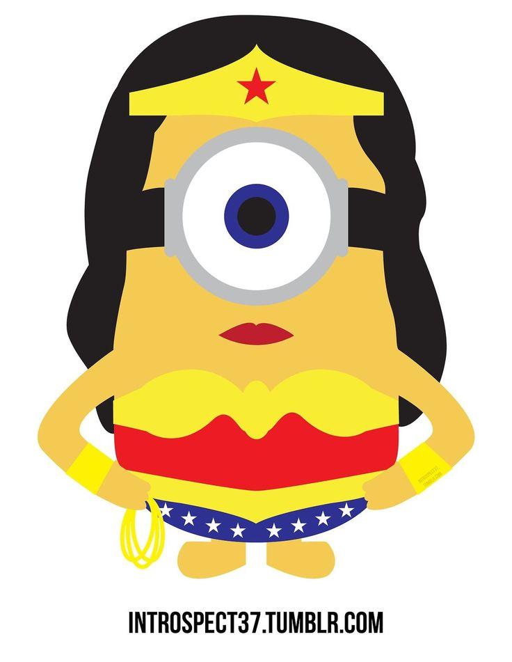 Wonder Woman Minion
