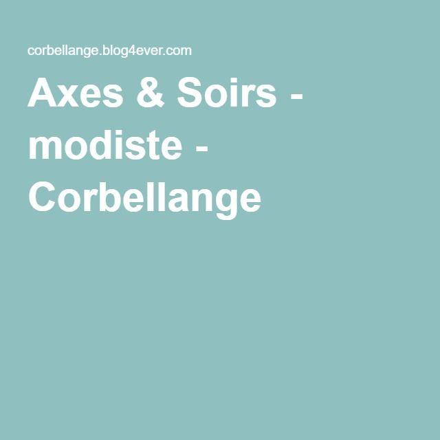 Axes & Soirs - modiste - Corbellange