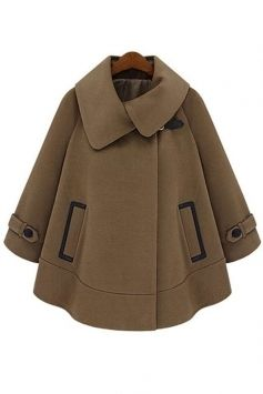 Camel Cape Coat that is perfectly feminine and a quintessential Autumn essential