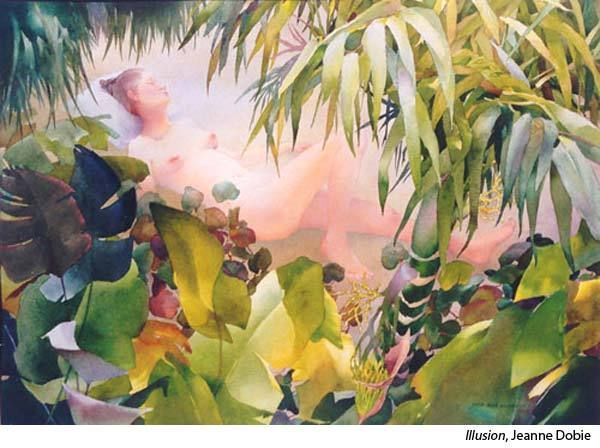 Interview With Watercolor Artist Jeanne Dobie In 2020 Painting