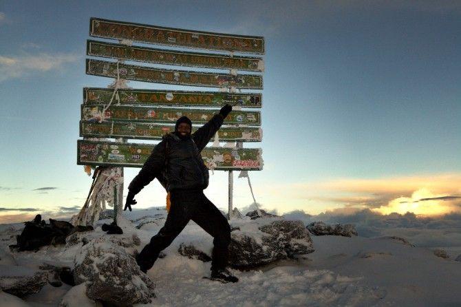 Kilimandjaro ascension uhuru peak