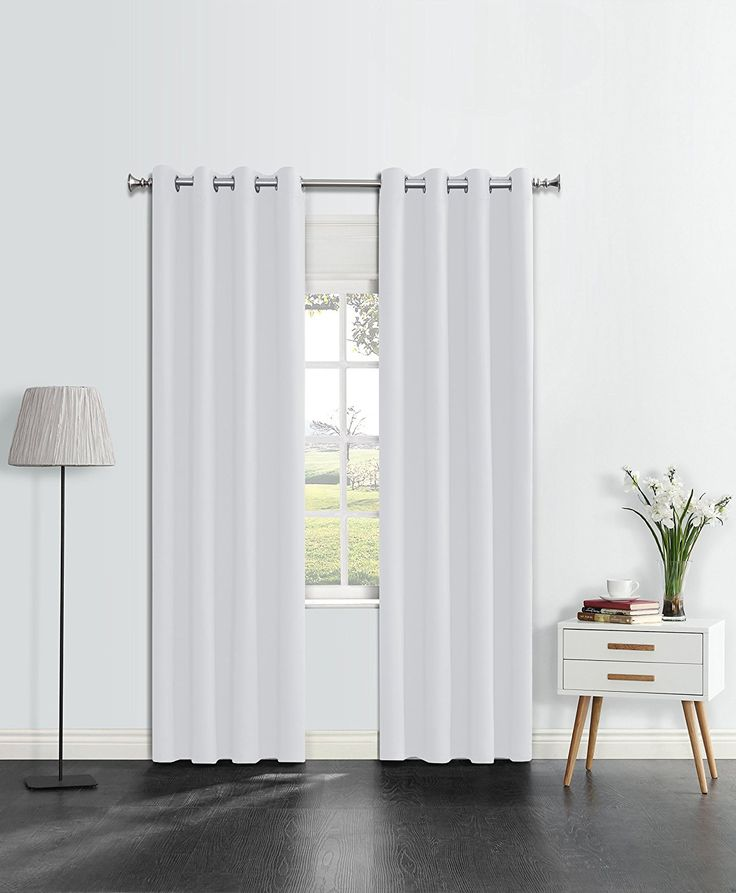 Onlyyou Thermal Blackout Curtains/ Window Treatments Grommet Top Insulated Drapes /Room Darkening Drapery Panel for Bedroom, Living Room, Girl's Boy's Room