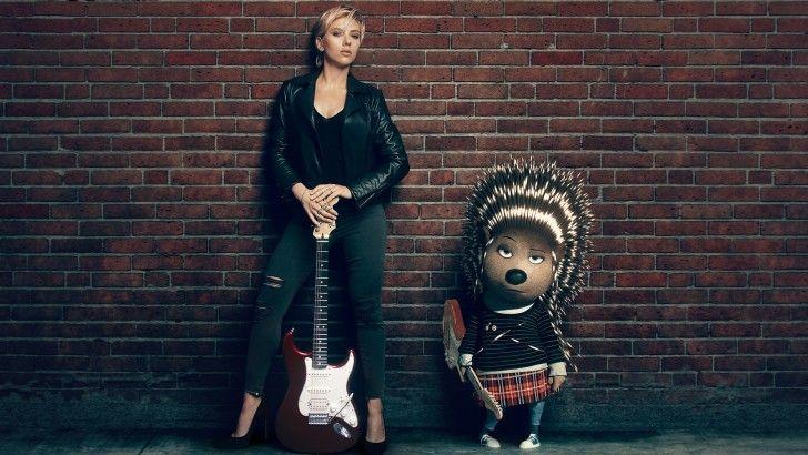 Scarlett Johansson As Ash Sing 2016 Movie Wallpaper