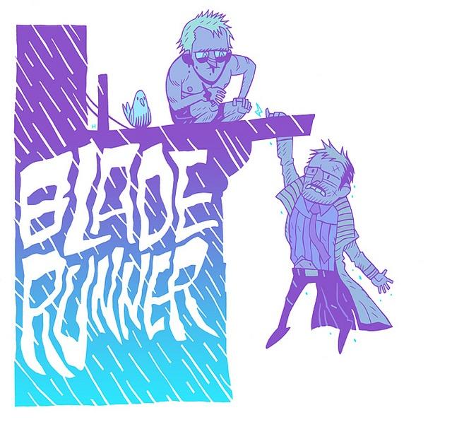 Blade Runner. By Dan Hipp.