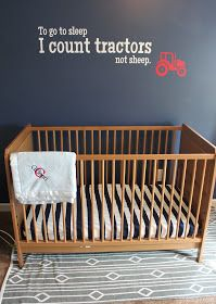Tag...You're It: The Red Tractor Nursery