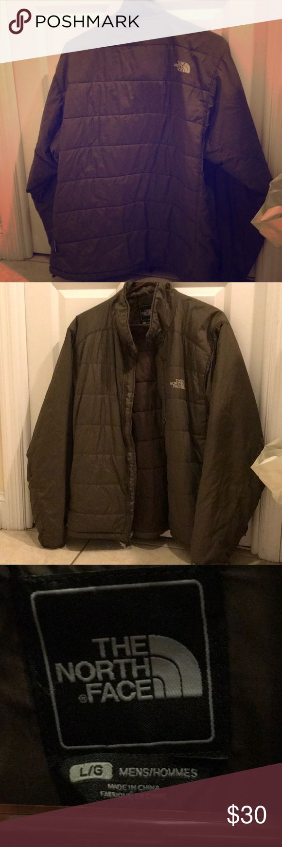 The North Face brown down jacket Warm winter jacket! Older model but fairly lightly worn. The North Face Jackets & Coats Puffers