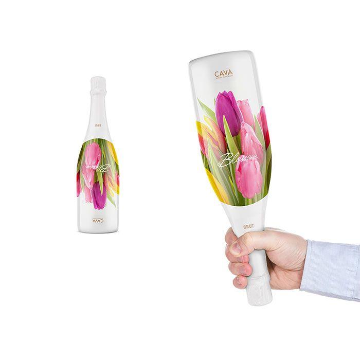 Cava bottle