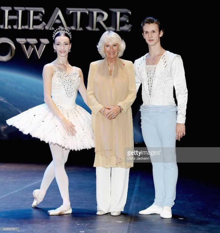 """Chris Jackson on Twitter: """"The Duchess of Cornwall with members of the Bolshoi at the National Theatre during the last engagement of #RoyalVisitBahrain"""