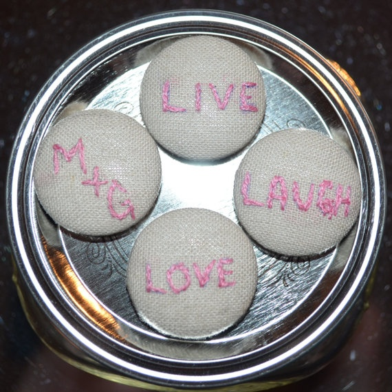 Wedding Favors  Embroidered Magnets by MeganKayDesign on Etsy, $10.00Wedding Favors, Favors Embroidered, Embroidered Magnets, Etsy Shops