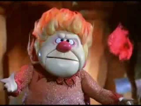 The Snow Miser and Heat Miser song from the 1974 Christmas TV special, The Year Without A Santa Claus.