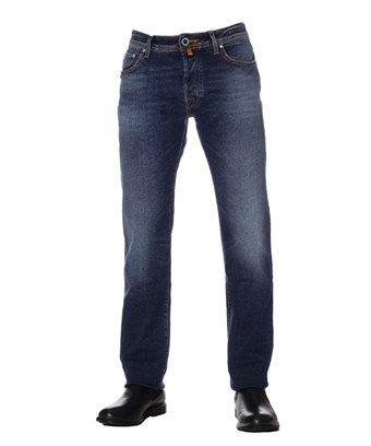 JACOB COHEN JACOB COHEN MEN'S  BLUE COTTON JEANS. #jacobcohen #cloth #