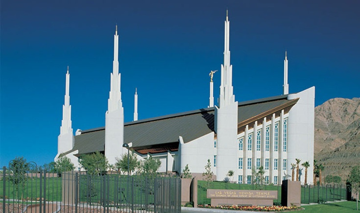 Las Vegas Nevada Temple ~ so many happy memories have occurred here... I'm' sure there will still be more to come.