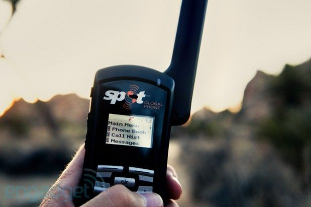 Spot Global Phone: a satellite phone for the masses                                                                                                                                                                                 More