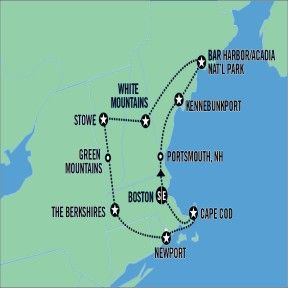 Road Trip - Best of New England