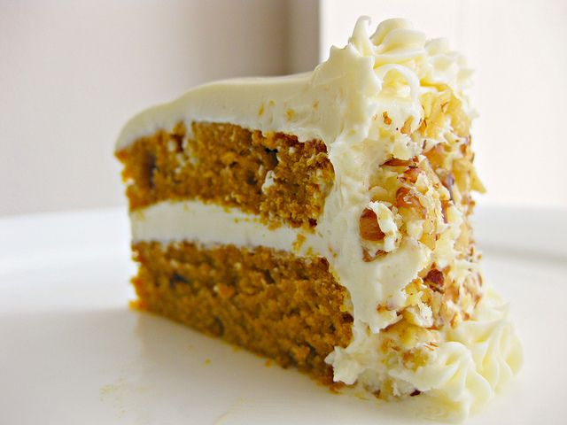 Pumpkin Spice Cake with Cream Cheese Frosting | Can You Stay For Dinner?