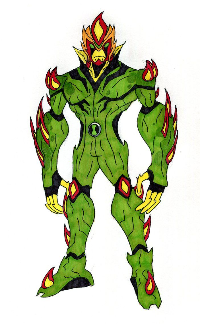 Swampfire By Supertodd9 With Images Ben 10 10 Things Ben 10