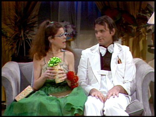 The Nerds - Lisa Loopner and Todd - played by Gilda Radner and Bill Murray on Saturday Night Live