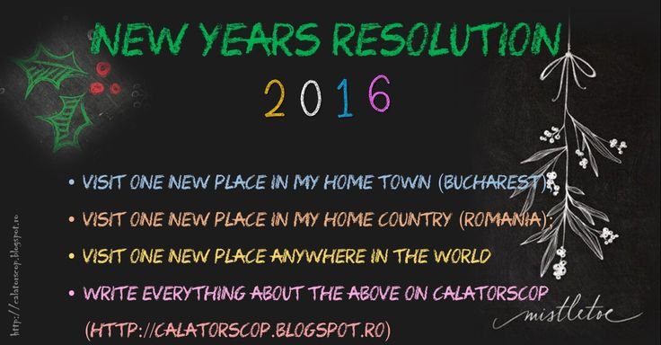 new year traveling resolution