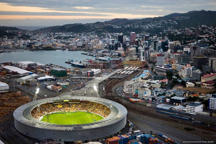 Wellington,New Zealand. Capacity : 33,500